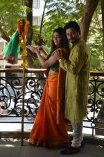 Anjana Sukhani, Swapnil Joshi at Gudi Padwa photo shoot on 7th April 2016 (12)_5708e09455ab7.JPG