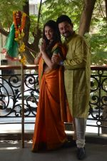 Anjana Sukhani, Swapnil Joshi at Gudi Padwa photo shoot on 7th April 2016 (13)_5708e062e0c57.JPG