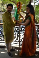 Anjana Sukhani, Swapnil Joshi at Gudi Padwa photo shoot on 7th April 2016 (14)_5708e09513fe5.JPG