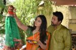 Anjana Sukhani, Swapnil Joshi at Gudi Padwa photo shoot on 7th April 2016 (4)_5708e0911400c.JPG