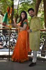 Anjana Sukhani, Swapnil Joshi at Gudi Padwa photo shoot on 7th April 2016 (6)_5708e091ccd1e.JPG