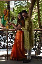 Anjana Sukhani, Swapnil Joshi at Gudi Padwa photo shoot on 7th April 2016 (9)_5708e0608b74a.JPG