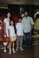 Arshad Warsi, Maria Goretti at Jungle Book screening on 7th April 2016