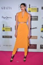 Athiya Shetty at Grazia Young Fashion Awards 2016 Red Carpet on 7th April 2016