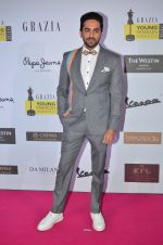 Ayushmann Khurrana at Grazia Young Fashion Awards 2016 Red Carpet on 7th April 2016