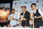 Emraan Hashmi promotes his book The Kiss Of Life with Kejriwal and Bilal Siddiqui on 7th April 2016