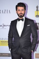Fawad Khan at Grazia Young Fashion Awards 2016 Red Carpet on 7th April 2016