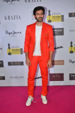 Kartik Aaryan at Grazia Young Fashion Awards 2016 Red Carpet on 7th April 2016