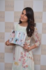 Mandana Karimi at designer Ritika Bharwani preview on 7th April 2016