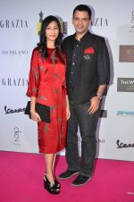 Nachiket Barve at Grazia Young Fashion Awards 2016 Red Carpet on 7th April 2016