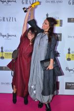 Neha Dhupia at Grazia Young Fashion Awards 2016 Red Carpet on 7th April 2016