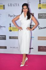 Sophie Chaudhary at Grazia Young Fashion Awards 2016 Red Carpet on 7th April 2016