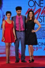 Tanuj Virwani, Sunny Leone, Nyra Banerjee at One Night Stand trailor launch on 7th April 2016 (68)_5708e2ff737c9.JPG