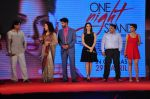 Tanuj Virwani, Sunny Leone, Nyra Banerjee at One Night Stand trailor launch on 7th April 2016