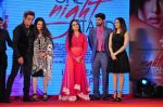 Tanuj Virwani, Sunny Leone,Shakti Kapoor, Poonam Dhillon, Padmini Kolhapure at One Night Stand trailor launch on 7th April 2016
