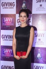 Kim Sharma at Savvy Magazine covers celebrations in Mumbai on 9th April 2016 (122)_570a41a26a2eb.JPG