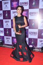Kim Sharma at Savvy Magazine covers celebrations in Mumbai on 9th April 2016