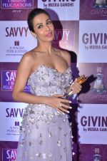 Malaika Arora Khan at Savvy Magazine covers celebrations in Mumbai on 9th April 2016 (79)_570a41c20a176.JPG