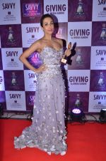 Malaika Arora Khan at Savvy Magazine covers celebrations in Mumbai on 9th April 2016