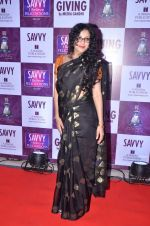 Nandana Sen at Savvy Magazine covers celebrations in Mumbai on 9th April 2016