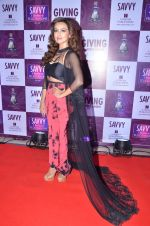 Sana Khan at Savvy Magazine covers celebrations in Mumbai on 9th April 2016