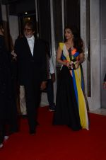 Amitabh Bachchan, Aishwarya Rai Bachchan at Hello Hall of Fame Awards 2016 on 11th April 2016