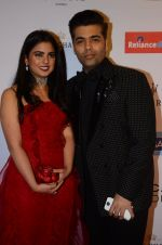 Isha Ambani, Karan Johar at Hello Hall of Fame Awards 2016 on 11th April 2016
