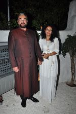 Kabir Bedi, Parveen Dusanj at the Success bash of the film Ki & Ka in Olive on 11th April 2016 (53)_570ccd39b7b80.JPG
