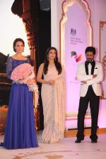 Kate Middleton with Aishwarya Rai and Shahrukh Khan at Dinner party for Royal Couple in The Taj Mahal Palace, Mumbai on 11th April 2016