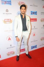 Sidharth Malhotra at Hello Hall of Fame Awards 2016 on 11th April 2016