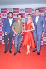 Lauren Gottlieb, Siddharth Mahadevan, Raghav Sachar, Cyrus Sahukar at Fame app event in Mumbai on 12th April 2016 (12)_570e4b273e4ea.JPG