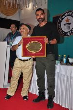 John Abraham at Guiness record for Bisleri on 13th April 2016