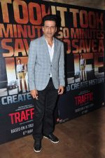 Manoj Bajpai at Traffic Jam film trailer launch in Mumbai on 13th April 2016