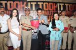 Manoj Bajpai, Divya Dutta at Traffic Jam film trailer launch in Mumbai on 13th April 2016