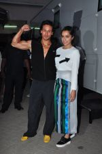 Shraddha Kapoor, Tiger Shroff at Baaghi film promotions on 13th April 2016