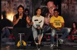 Shraddha Kapoor, Tiger Shroff, Sabbir Khan at Baaghi film promotions on 13th April 2016