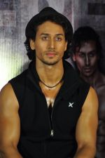 Tiger Shroff at Baaghi film promotions on 13th April 2016