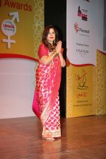 Zeenat Aman at Laadli Awards on 13th April 2016