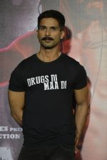 Shahid Kapoor at Udta Punjab trailer launch on 16th April 2016