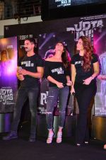 Shahid Kapoor, Kareena Kapoor, Alia Bhatt at Udta Punjab trailer launch on 16th April 2016
