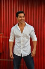 Varun Dhawan at Dishoom wrap up in Mumbai on 18th April 2016