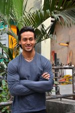 Tiger Shroff snapped on 19th April 2016