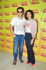 Prachi Desai and Emraan Hashmi at Radio Mirchi to promote Azhar on 20th April 2016