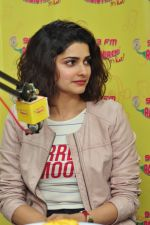 Prachi Desai at Radio Mirchi to promote Azhar on 20th April 2016