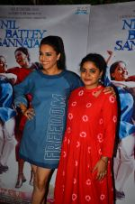 Swara Bhaskar, Ashwiny Iyer Tiwari at Nil Battey Sannata Screening in Mumbai on 20th April 2016