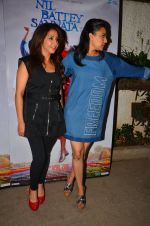 Swara Bhaskar, Krishika Lulla at Nil Battey Sannata Screening in Mumbai on 20th April 2016
