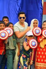 Varun Dhawan at Marvel's Captain America promotions on 21st April 2016