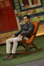 Emraan Hashmi at the promotion of Azhar on location of The Kapil Sharma Show on 22nd April 2016