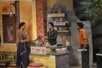 Emraan Hashmi, Lara Dutta at the promotion of Azhar on location of The Kapil Sharma Show on 22nd April 2016