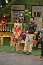 Emraan Hashmi, Prachi Desai at the promotion of Azhar on location of The Kapil Sharma Show on 22nd April 2016 (192)_571b63e168a7e.JPG